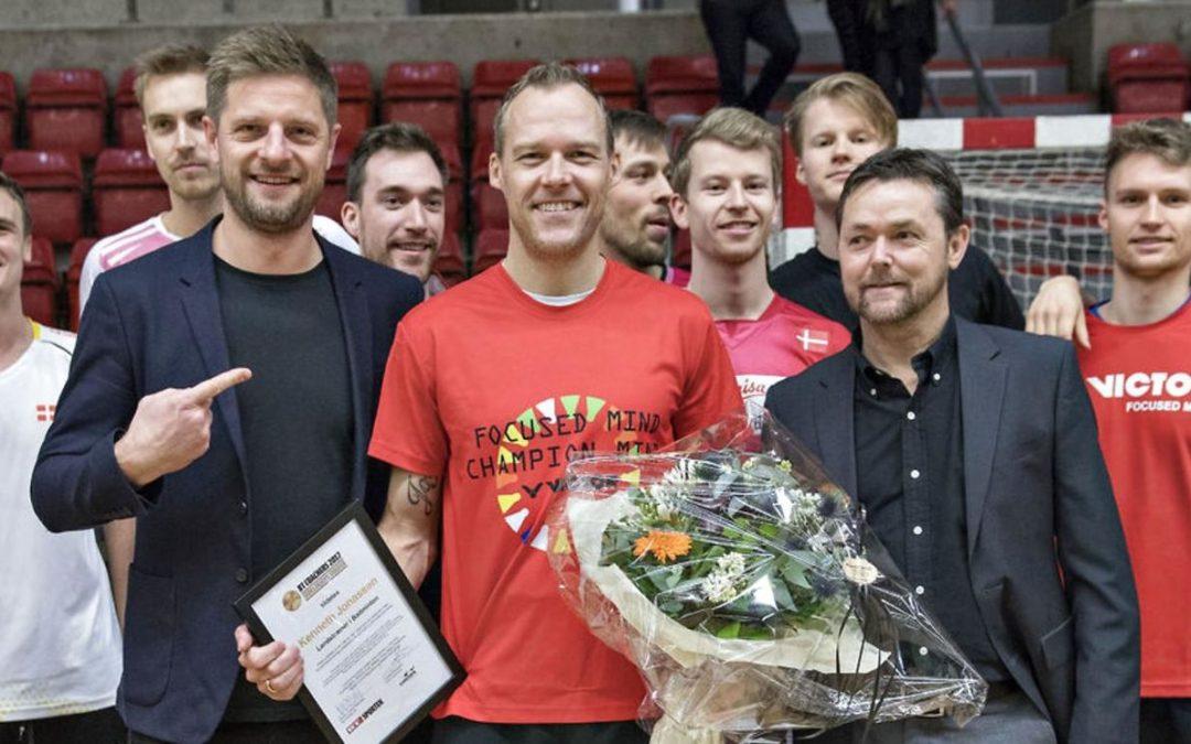 Kenneth Jonassen vinder BT Coachers Prisen 2017