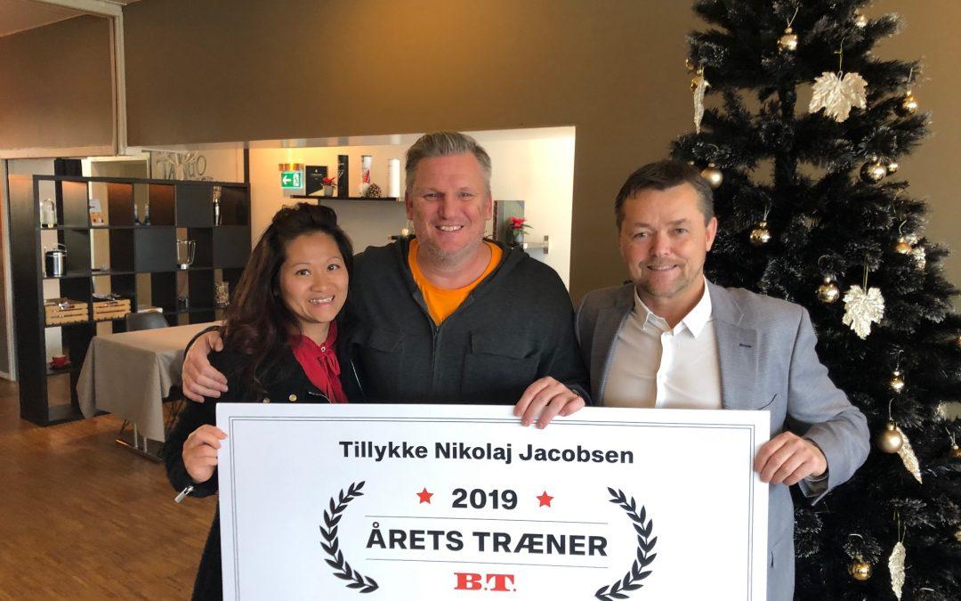Nikolaj Jacobsen er årets træner 2019
