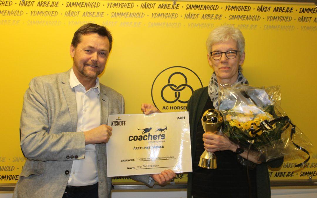 Inge Toft blev årets netværker